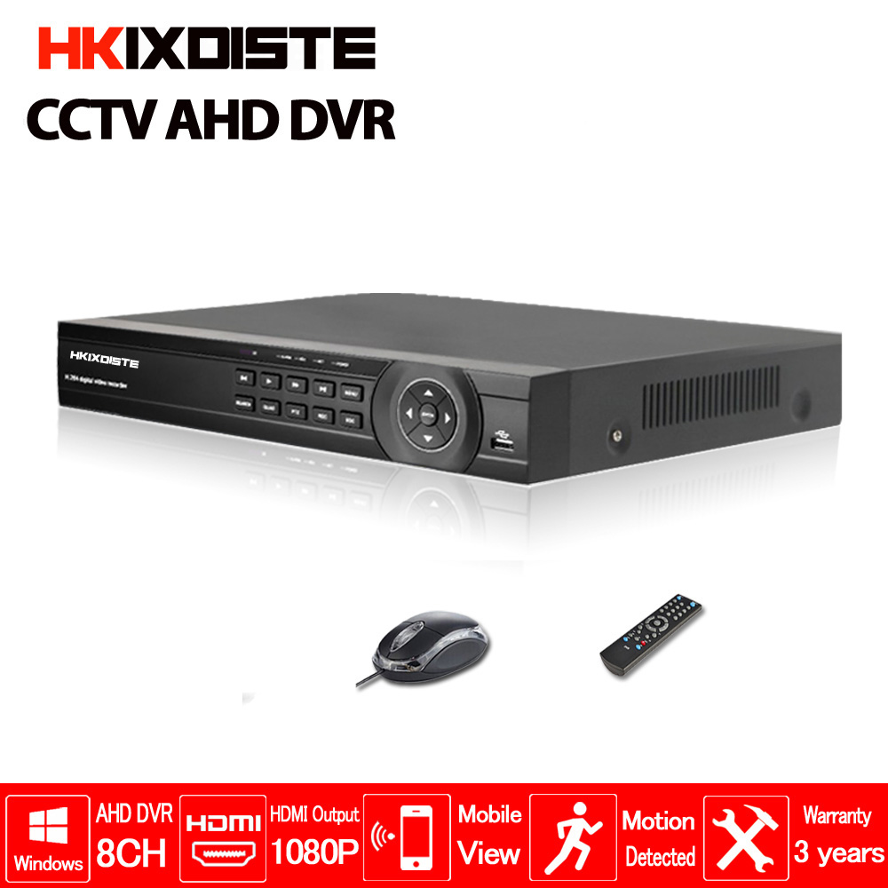 8CH AHD-NH AHDNH DVR AHD-M DVR/1080P TVI CVI AHD DVR 5 IN 1 1080P HDMI Output 4CH Audio In For AHD AHDH CCTV Camera nh collection madrid abascal ex nh abascal 4 мадрид
