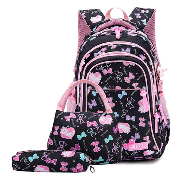 Kids primary school waterproof backpack 1