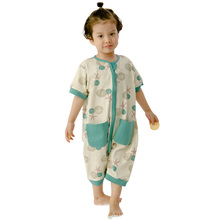 Newborn Baby Girls Boys Cotton Romper short  Sleve Print Jumpsuit New Years Clothes Outfits Fashion Long