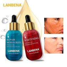 LANBENA Anti-Aging Essential Oil+Repair Moisturize Essence Oil Vitamin C Face Serum Nourishing Firming Acne Spot Skin Care
