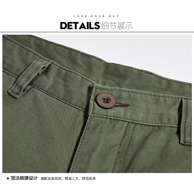Icpans Winter Tactical Black Cargo Pants Men Loose Fit Military Style Side Pockets Army Black Denim Casual Men Pants Size 40 42 24