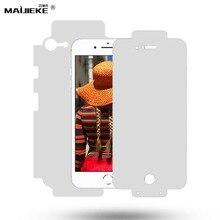 ใหม่ Full Coverage ด้านหน้าและด้านหลัง nano screen Protector ฟิล์มสำหรับ iPhone 11 Pro Max 11 X XS Max XR 8 plus 7 6s 6 plus ฟิล์ม hydrogel
