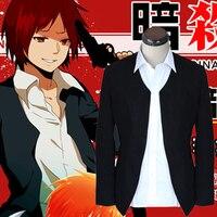 Anime Ansatsu Kyoushitsu/Assassination Classroom Akabane Karuma Cosplay Jacket Coat Costume Blazer Suit Uniform Free Shipping