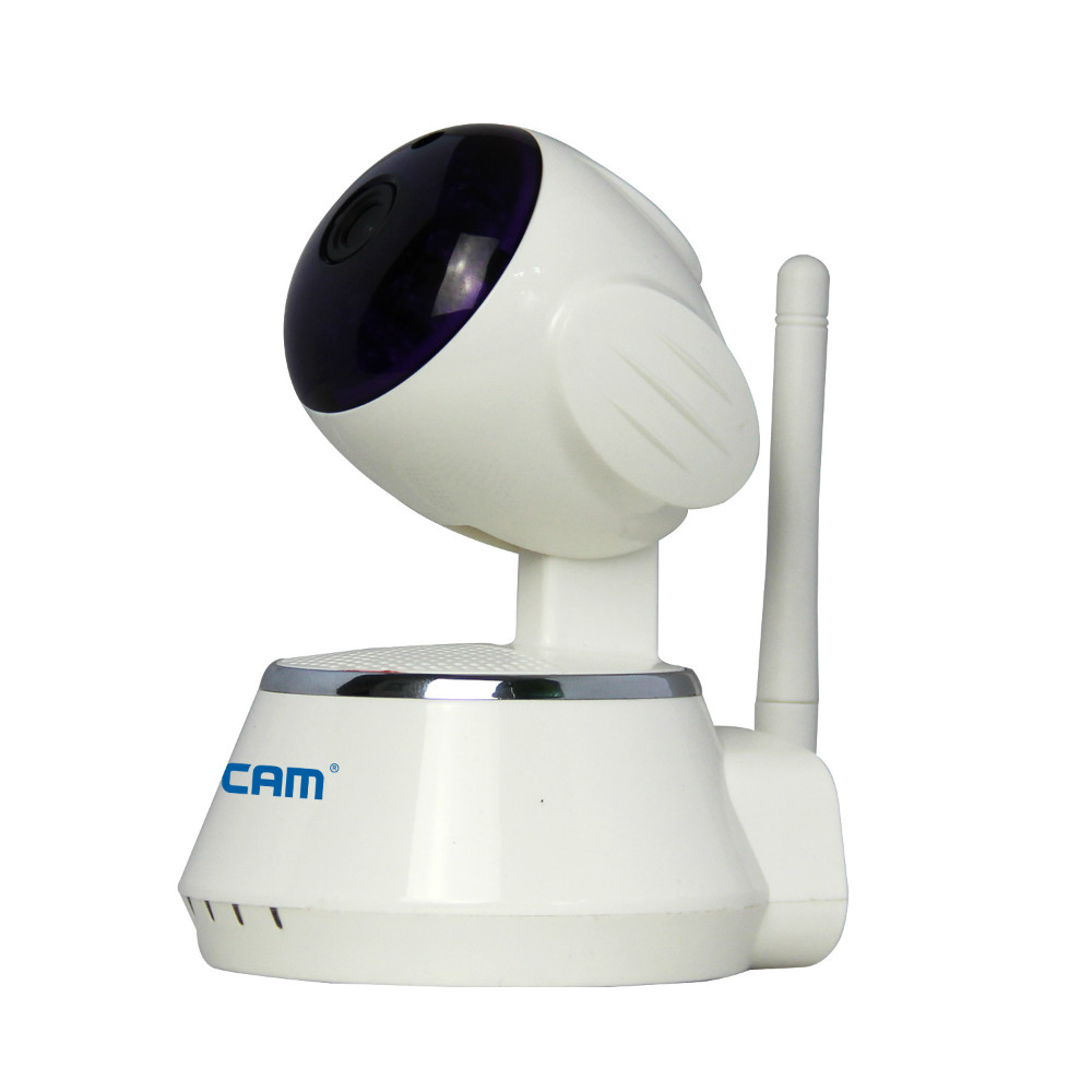 ESCAM Anti-Thief WIFI Alarm System 433Mhz Wireless IP Camera IR Night Vision escam qf550 super egg wifi 1 0mp alarm ip camera anti fire anti gas 720p