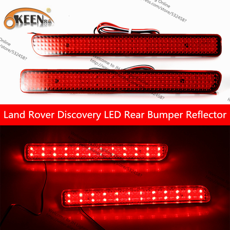 Led Brake light Signal lamps For Land Rover Discovery 2pcs/lot Daytime Running Light Rearing lights /Tail lights OKEEN New
