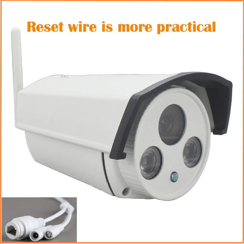 HD 1080P Bullet White IP Camera Wifi 2mp Wireless Seurveillance Security Outdoor CMOS Infrared Night Vision Freeshipping Hot