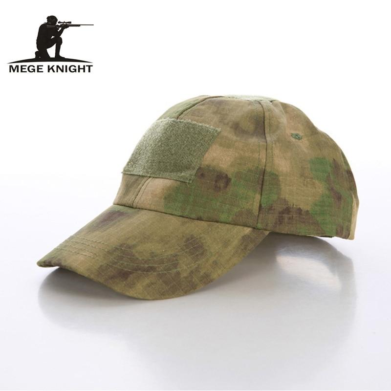 2017 Gratis pengiriman! Topi laki-laki, Musim panas pria kamuflase topi taktis, Tentara bionik kadet topi militer