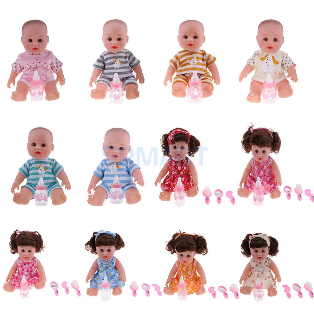 30 см реалистичные плакать/вызова мама возрождается виниловые новорожденный мальчик и девочка куклы дети Ролевые игры игрушка практике дет...