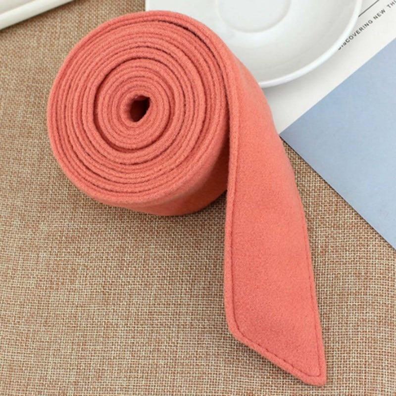 Hot Sale Fashion Wool Buckles For Trench Overcoat Accessories 1PC Unisex Belt Tie Women Coat Tie Faux Hairy Belt Waistband Wrap