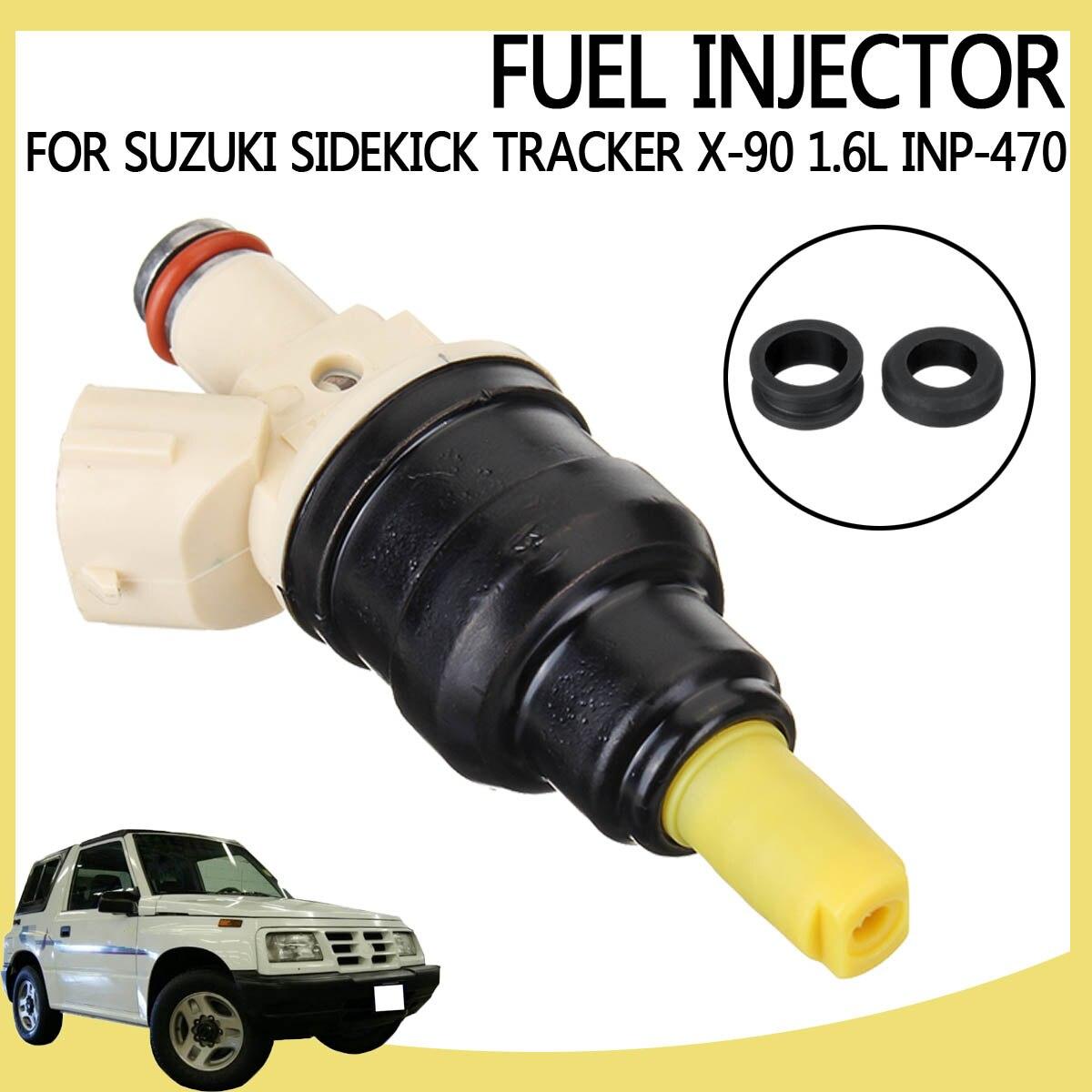 4x New Upgraded Fuel Injectors For Suzuki Sidekick Tracker X-90 1.6L INP-470