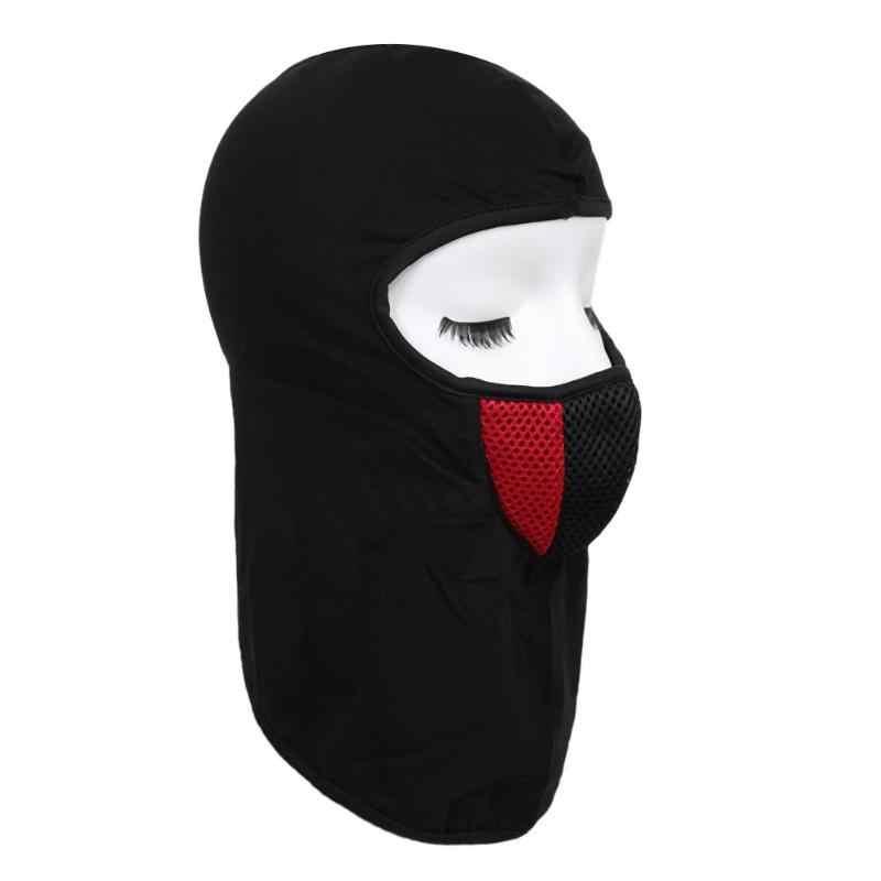 Зимний теплый для шеи маска для лица шапка шарф-хомут маска для лица Лыжная Спортивная полностью Ветрозащитная маска велосипедная теплая Балаклава Крышка