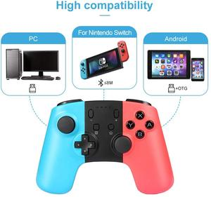 Image 2 - Wireless Game Controller for Nintendo Switch Console PC Android Bluetooth Rechargeable Gamepad Joystick Nintend Switch Pro