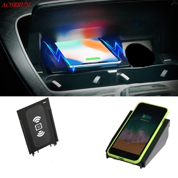 For Mercedes Benz W205 C200 C205 C CLC 250d X253 C253 Couper Class car Qi wireless charger phone adapter 10W quick charging case