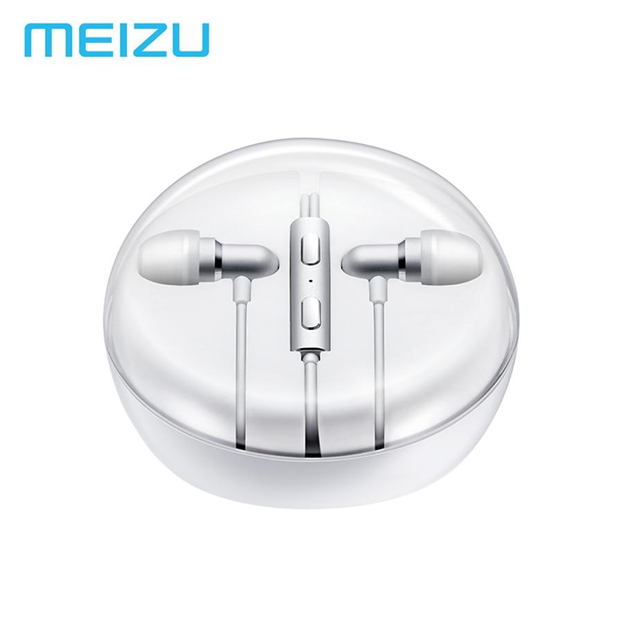 MEIZU EP31 HIFI 2.0 Metal Earphone Heavy bass Headsets Drive-by-wire Earphone With Mic For MeiZu Pro5 MX2 MX3 MX4 PRO 6