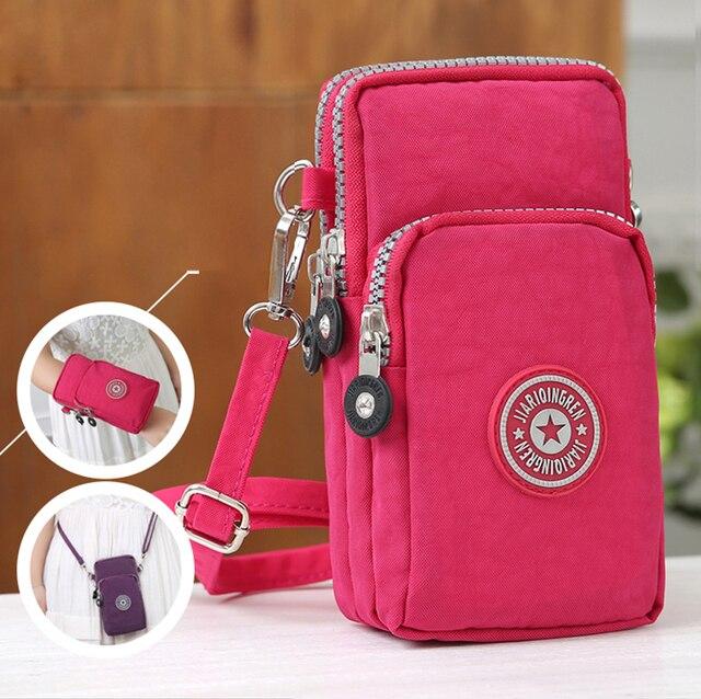 Спорт Универсальный кошелек сумка для iPhone 6 7 Plus Открытый Восхождение Портативный чехол для iPhone 6s мобильного телефона кобура
