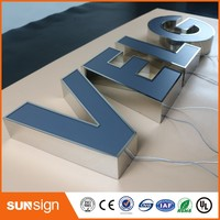 Channel Letter Sign Making Led Advertising Illuminated Signs