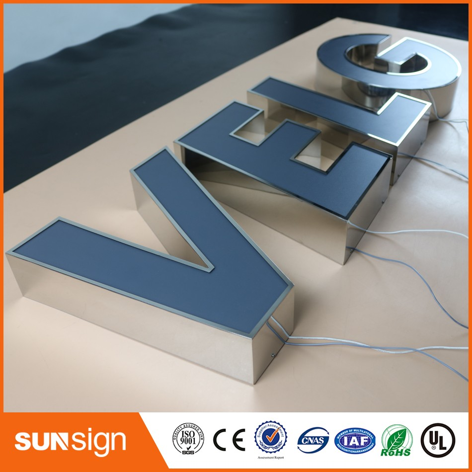 channel letter sign making led advertising illuminated With channel letter sign supplies