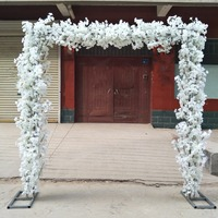 New Various Shape Arches Cherry Blossom Set( Flower with Frame) for Wedding Event Decoration Centerpieces