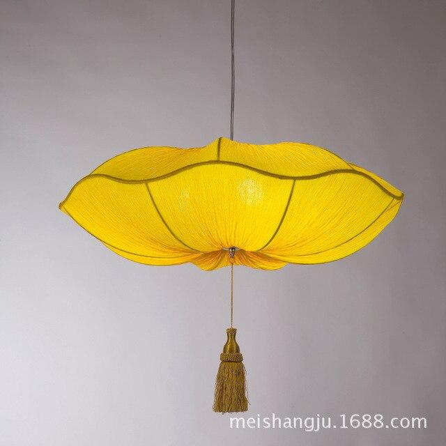 Webetop Creative Lantern Pendant Lamp Chinese Lantern Fabric Pendant Light  Romantic Bedroom Hotel Restaurant Aisle Stairs