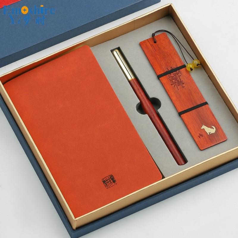 Top marque boîte à crayons en bois rouleau stylo à bille stylo à bille de luxe recharge bois signet pour nouvel an cadeaux publicitaires P458
