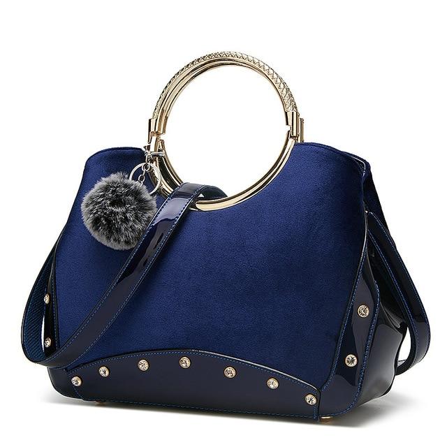 2019 New women handbags women designer luxury bag women bags winter Pendant sweet shoulder bag for women