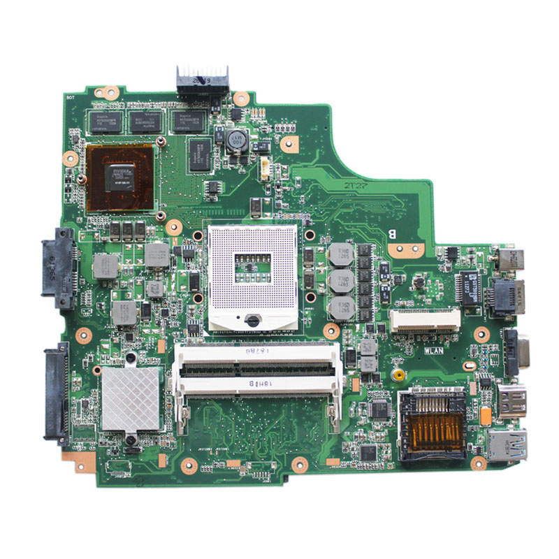 Used,for ASUS K43SV K43S K43SJ A43S A84S X43S K43SM laptop motherboard REV:4.1 USB3.0 GT540M 2GB mainboard fully tested-in Motherboards from Computer & Office    1