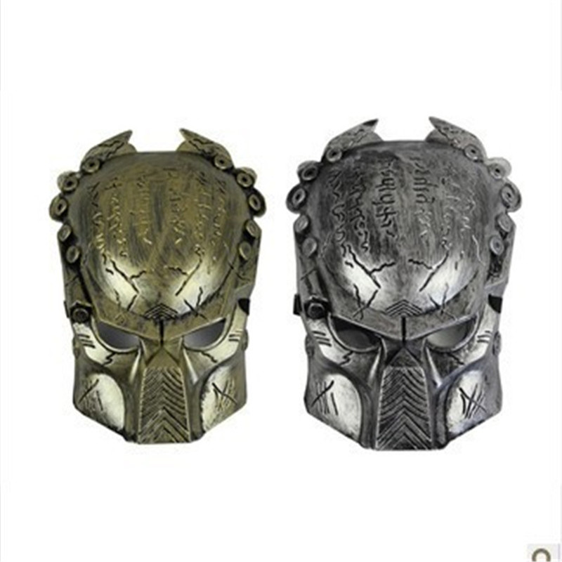 Warrior Mask Movie Theme Lonely Wolf Halloween Horror Mask PVC Horror Mask Skull Head Tease Party Props Festive Supplies 1pc in Party Masks from Home Garden