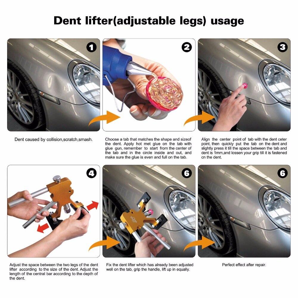 PDR Puller Super Blue Color Removal Glue Pc Tabs Tabs Dent Color Glue Color Tools Gold 25pc Dent 10 Red