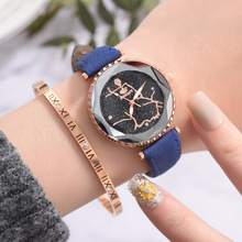 Exquisite Ladies Watch Female Leather Quartz Wrist Watch Elegant Women Watches Bracelet Watch Montre Femme 2019 kezzi brand ceramic watches women bracelet watch analog display quartz movement waterproof wrist watch ladies montre femme gift