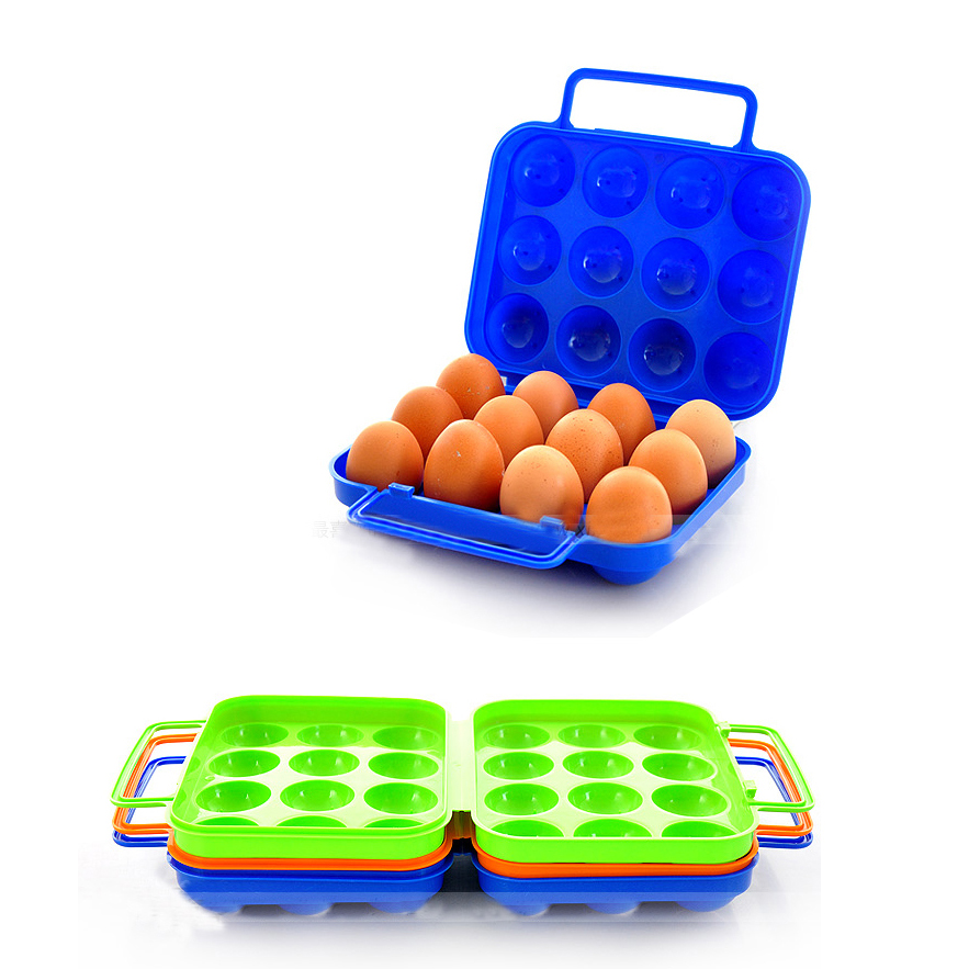 Picnic Supplies Portable Egg Organizers Travelling Anti