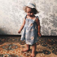 Baby clothes 2019 Summer Baby Girl Clothes Strap Bow Vest + Floral Shorts + Hat 3Pcs Set Baby Clothing Suit For Girls Clothes