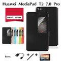 Для Huawei MediaPad T2 7. 0 Про планшетный компьютер кобура случае окно, вытекающие из пакета tablet чехол + фильм + ручка + otg
