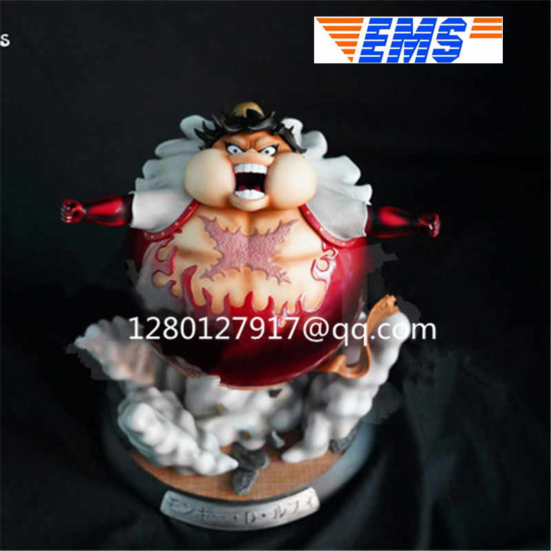 Statue One Piece Fighting Form Go Ballistic Monkey D Luffy Full Length Portrait Fat Luffy Bust Gk Action Figure Toy P995