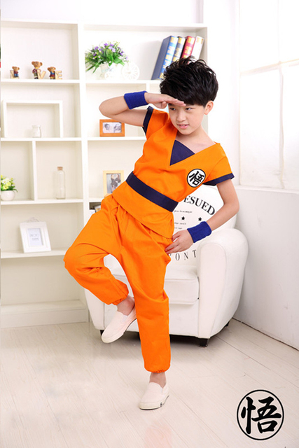 Free Shipping Superior quality Kids Dragon Ball Z Son Goku Cosplay Costume Halloeen Clothing CM310  sc 1 st  AliExpress.com & Free Shipping Superior quality Kids Dragon Ball Z Son Goku Cosplay ...