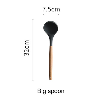 large soup spoon