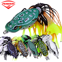 6pc PRO BEROS Brand Frog Lure High Quality Fishing Bait 6 colors fishing lures 7cm 2.76/0.46oz 12.95g fishing tackle