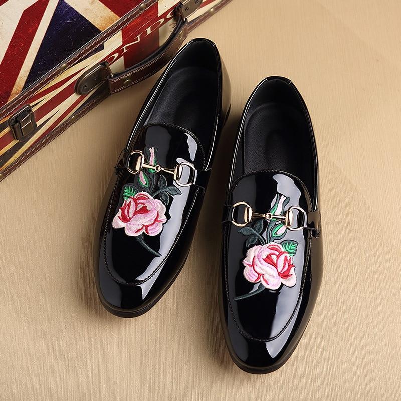 Ljetne muške casual svijetle kožne ravne cipele personalizirane - Muške cipele - Foto 3