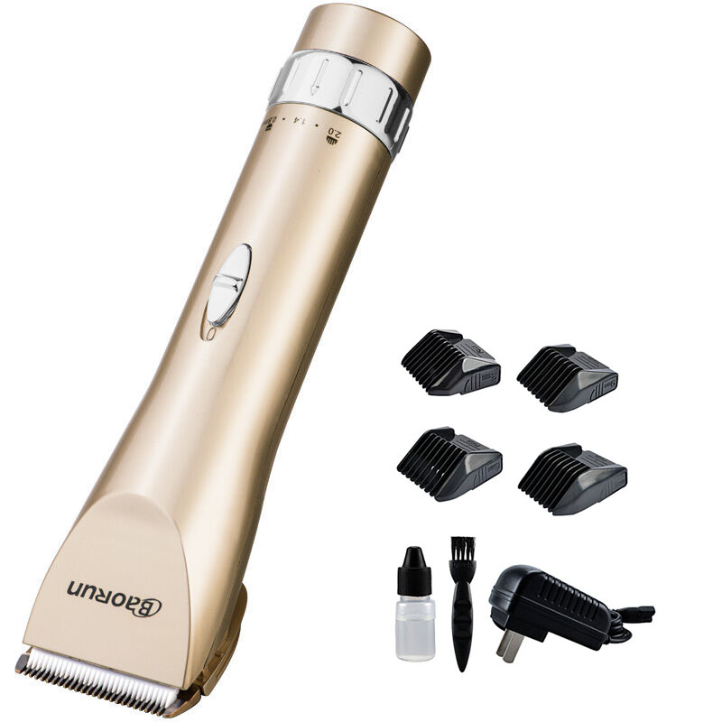 100-240V Professional Hair Trimmer Hair Clipper men Electric barber cutter hair cutting machine haircut ceramic titanium blade