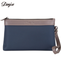 DANJUE High Quality Men Bag Oxford Cloth Hand Bag Male Zipper Leisure Clutch Bag Waterproof Casual