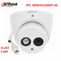 Dahua 4MP IP CCTV POE Camera IPC HDW4431EMP AS H 265 Onvif WDR SD Storage Audio