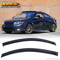Fit For 04-10 Scion TC Window Visors Sun And Rain Vent Wind Deflector 2PC