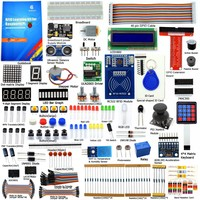 Adeept DIY Electric New RFID Starter Kit for Raspberry Pi 3 2 Model B/B+ Python with Guide Book 40 Pin GPIO Board Book diykit