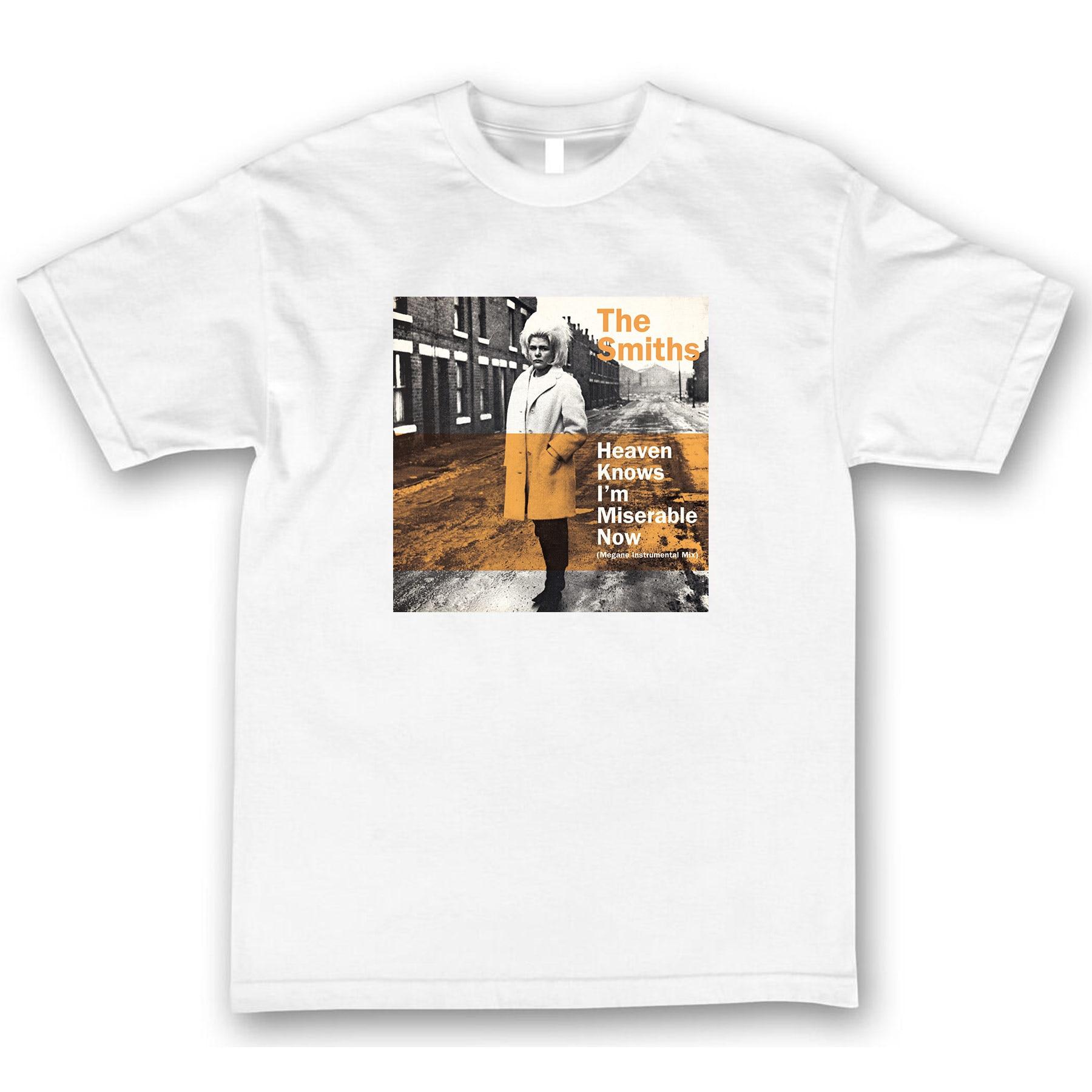 Der Schmiede Himmel Weiß Ich bin Miserable Jetzt T-shirt T-shirts Morrissey