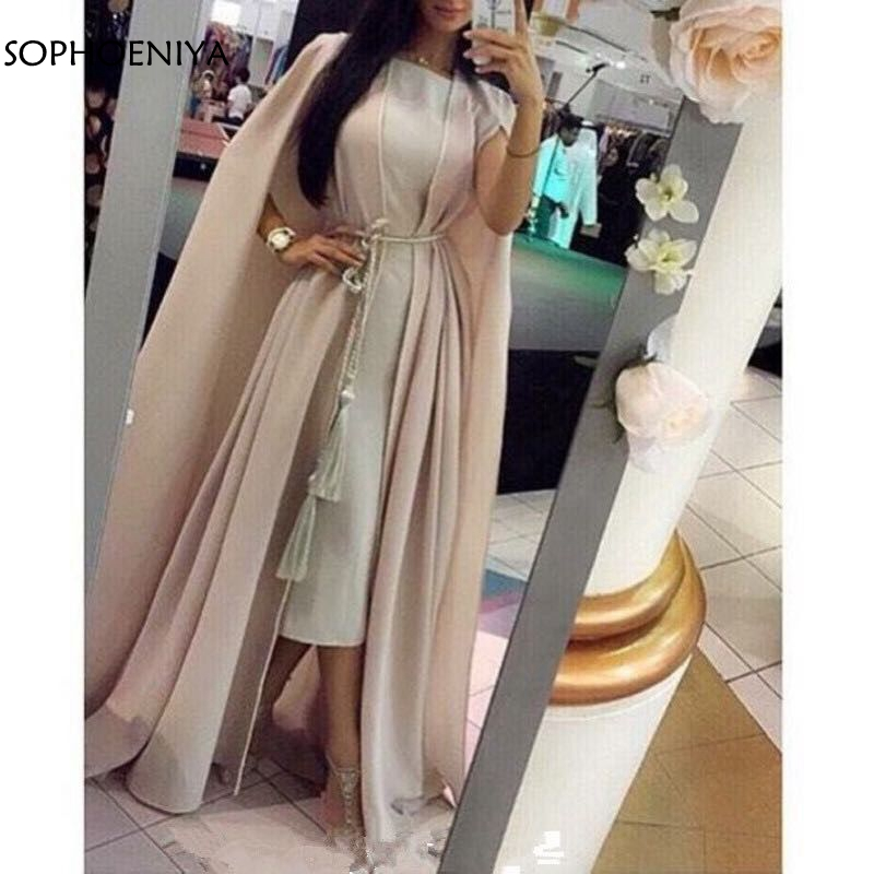 New Arrival Chiffon Dubai Kaftan long   dresses     evening   2019 Vintage   evening   gowns abendkleider   evening   gown muslim   evening     dress
