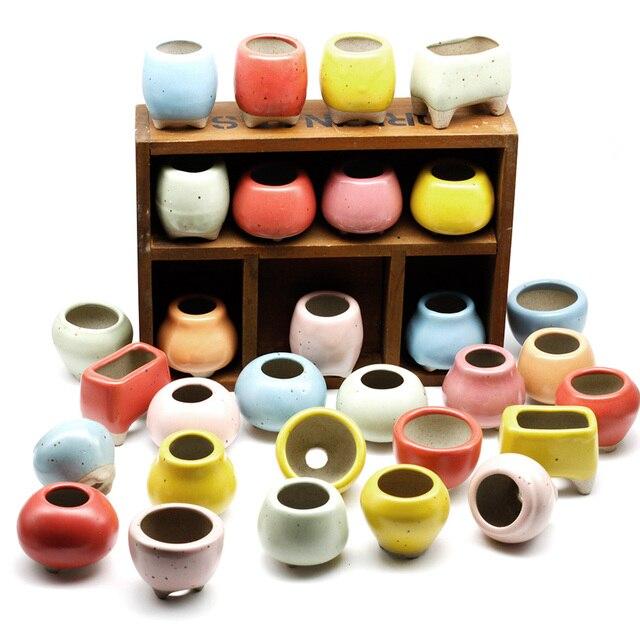 Ceramic Succulent Plant Pots Mawgie