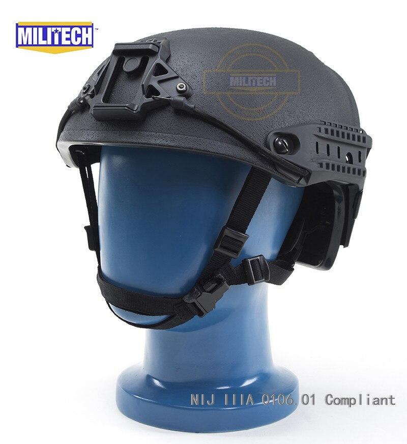 Militech Bk Airframe Entlüftet Nij Iiia Konform Ballistischen Helm Video Kommerziellen Nachfrage üBer Dem Angebot Sicherheit & Schutz