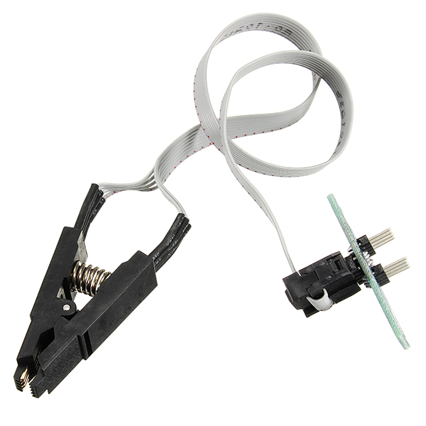Best Promotion SOP8 SOIC8 Test Clip With Cable For EEPROM 93CXX / 25CXX / 24CXX In-Circuit ProgrammingBest Promotion SOP8 SOIC8 Test Clip With Cable For EEPROM 93CXX / 25CXX / 24CXX In-Circuit Programming