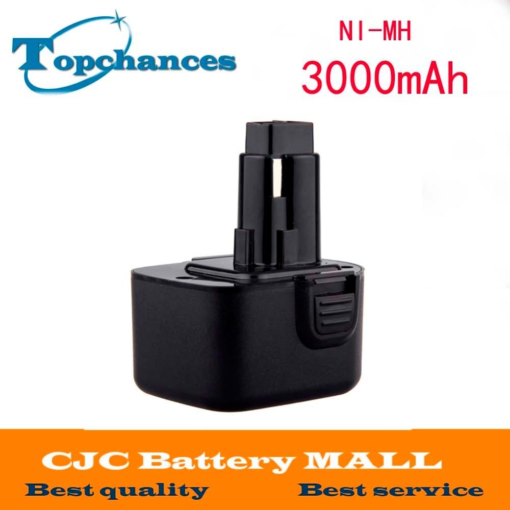 CE High capacity 3000mAh 12V Battery For Dewalt DW9071 DW9072 DC9071 DE9037 DE9071 DE9072 DE9074 DE9075