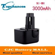 CE Высокой емкости 3000 мАч 12 В Аккумулятор Для Dewalt DW9072 DW9071 DC9071 DE9037 DE9071 DE9072 DE9074 DE9075 152250-27 397745-01