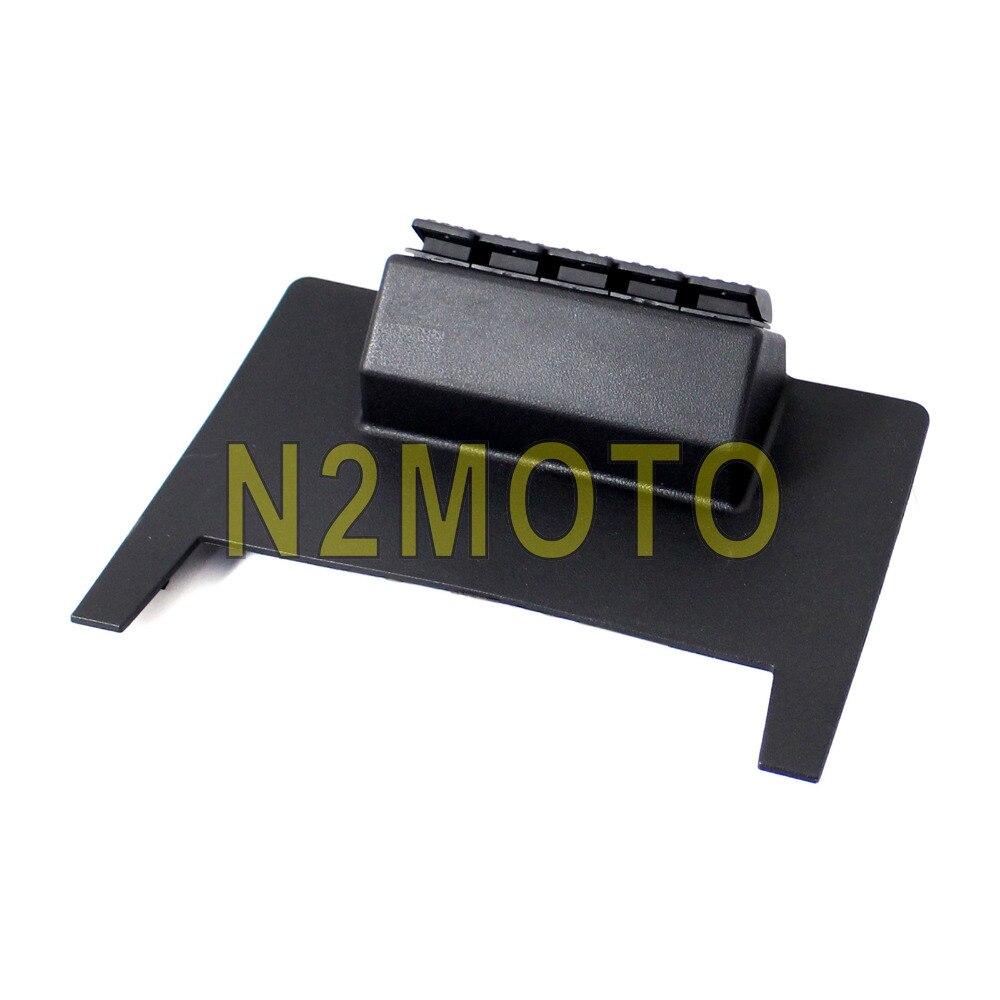 Black PMMA Lower Dash//Switch Panel Pod 12-24V For Jeep Wrangler JK 2011-2017